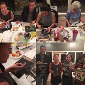 Host a Paint Night with your friends!