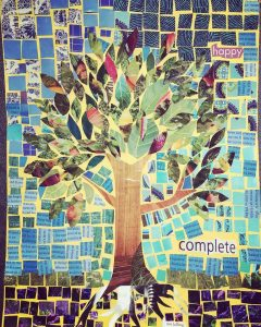 Wisdom of the Trees Paper Mosaic