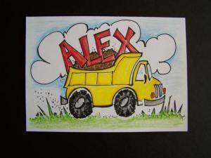 Alex's Dump Truck