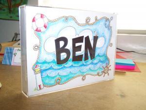 Ben custom name art
