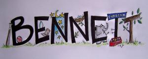 Bennett name art