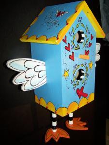 Bird House with legs