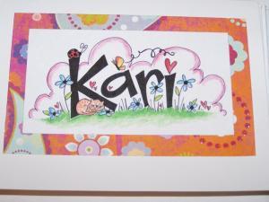 Custom Kari art
